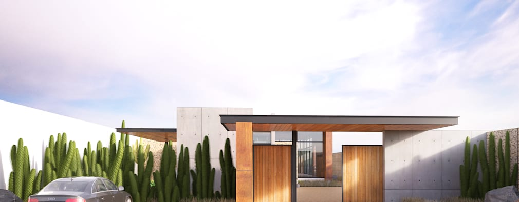 modern Houses by Lozano Arquitectos