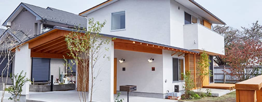 Nhà by 一級建築士事務所co-designstudio
