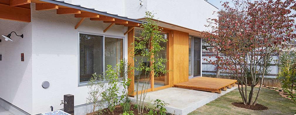 Projekty,  Ogród zaprojektowane przez 一級建築士事務所co-designstudio