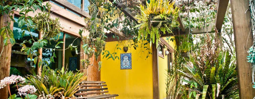Terrazas de estilo  por CARLOS EDUARDO DE LACERDA ARQUITETURA E PLANEJAMENTO LTDA.