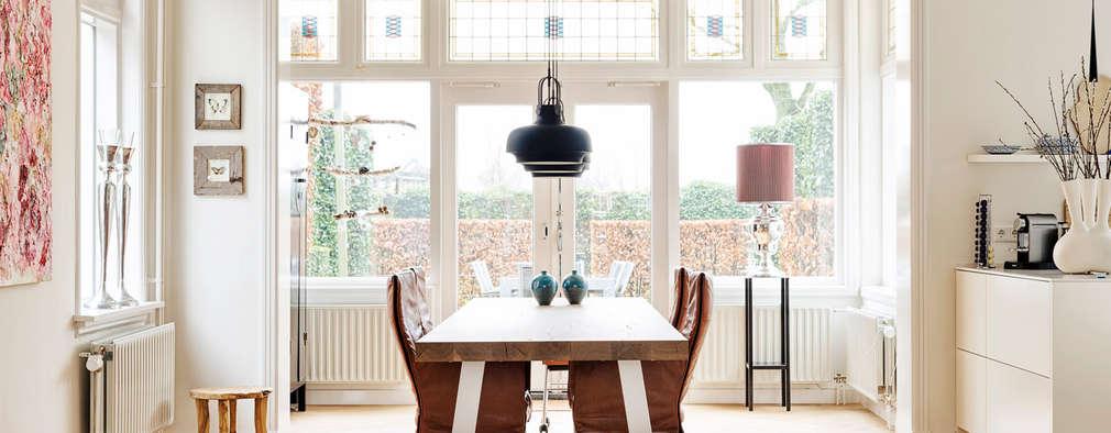 Klassiek en modern komen samen in deze totaal verbouwde woning for Interieur vormgeving