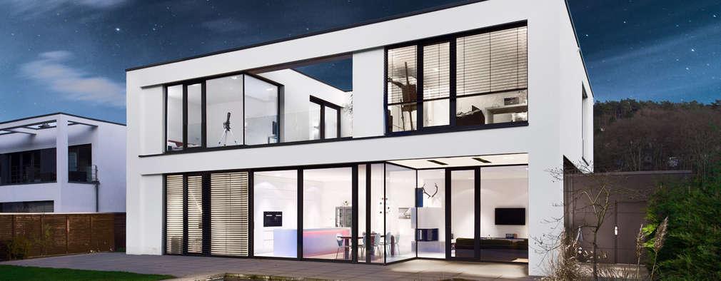 minimalistische Huizen door Skandella Architektur Innenarchitektur