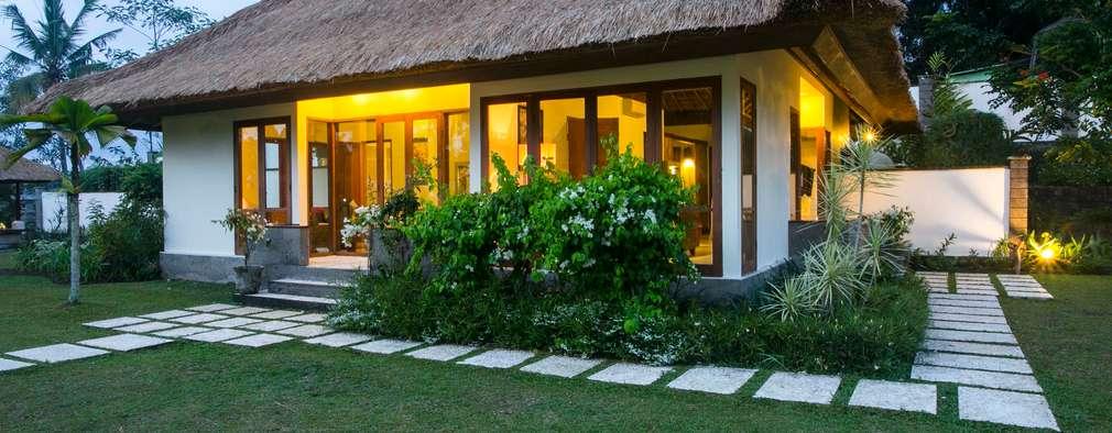 Projekty, azjatyckie Domy zaprojektowane przez Buseck Architekten