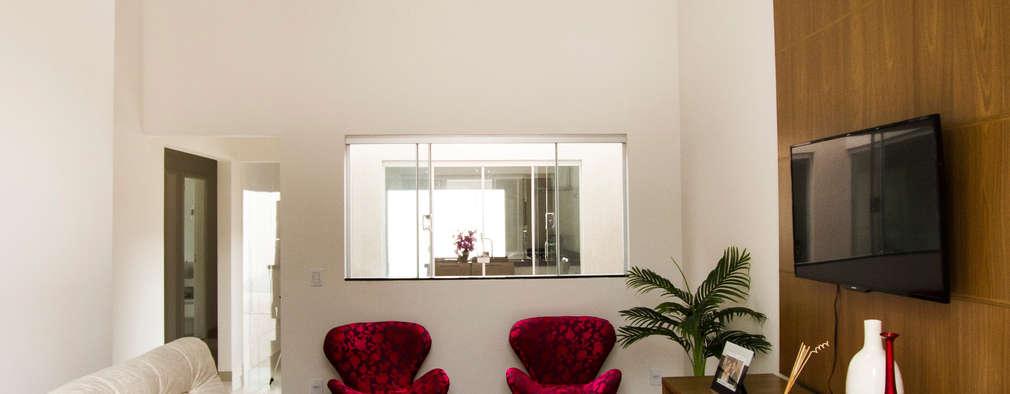 Arch & Design Studio: modern tarz Oturma Odası