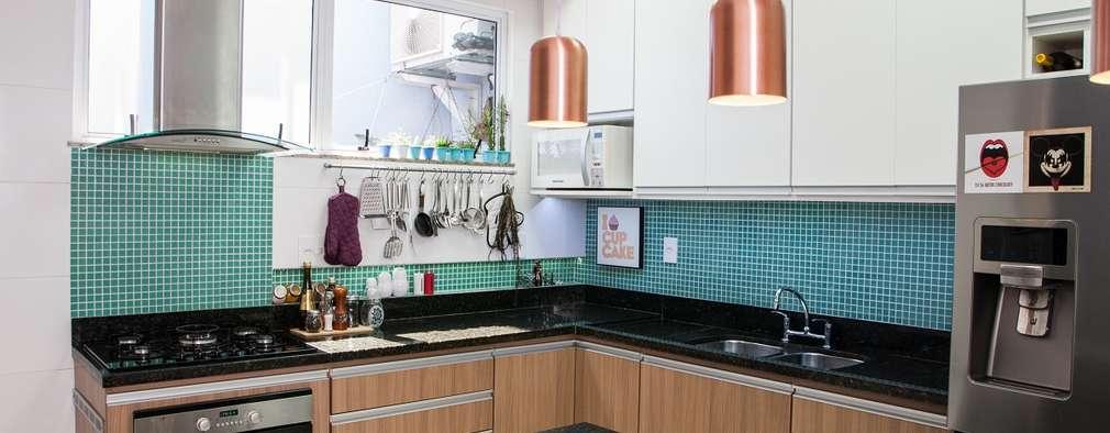 6 geniales ideas para usar el mosaico en la cocina for Cocinas con mosaico