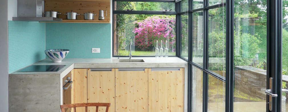 Cucine piccole 13 idee per collegarle al giardino - Idee per cucine piccole ...