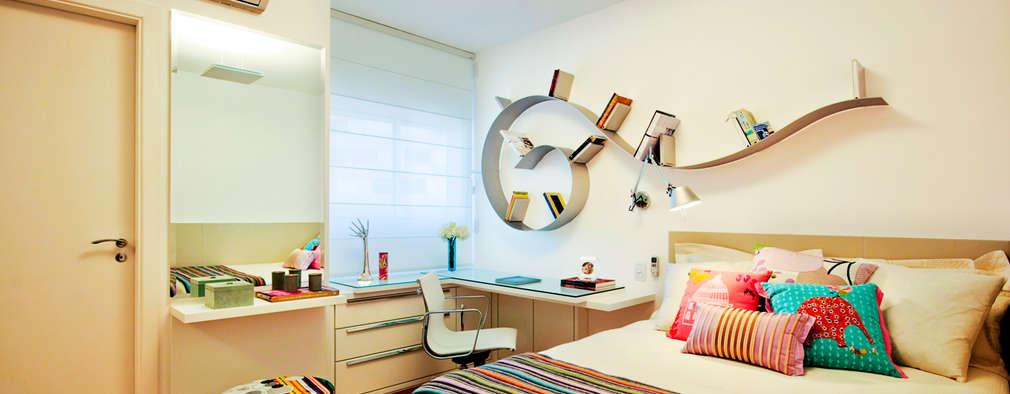 Dormitorios de estilo topical por Alice Martins Flávio Butti