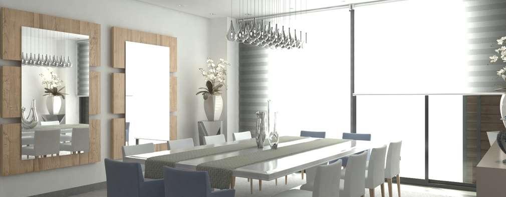 Comedor: Comedores de estilo moderno por Area5 arquitectura SAS