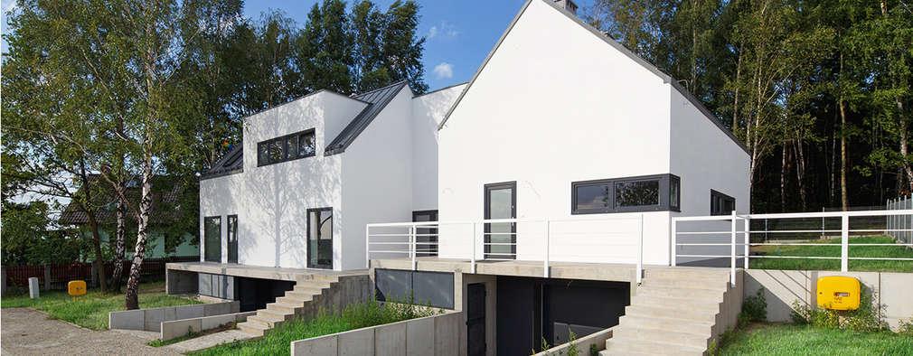 327 HILL HOUSES: styl , w kategorii  zaprojektowany przez Zalewski Architecture Group