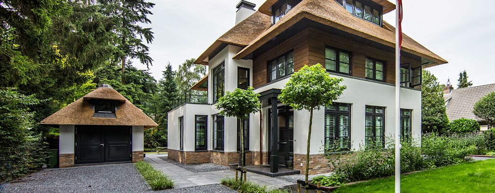 منازل تنفيذ DENOLDERVLEUGELS Architects & Associates