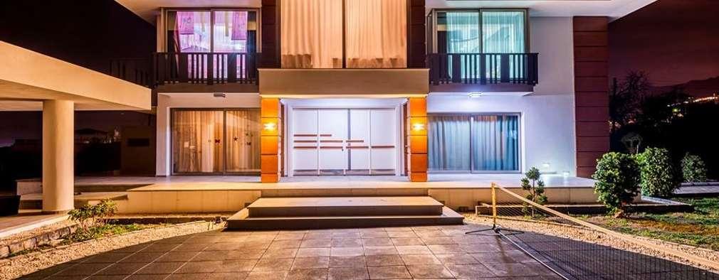 Şölen Üstüner İç mimarlık – RBK evi Lapta/ Girne: modern tarz Evler