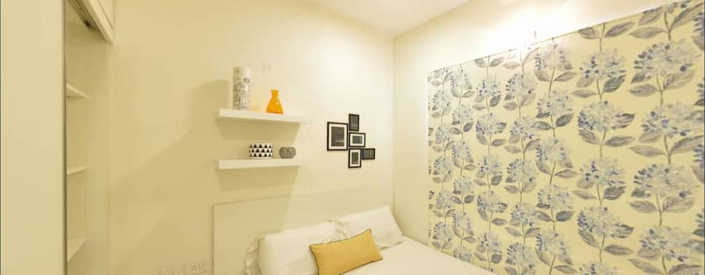 Master Bedroom:   by Uncut Design Lab