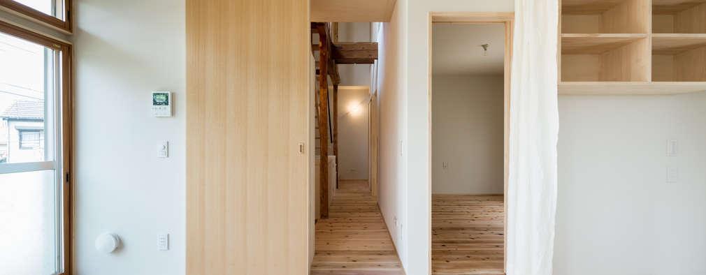 Re:M-house: coil松村一輝建設計事務所が手掛けた廊下 & 玄関です。