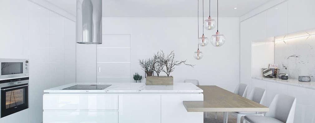 10 moderne Küchen, die dich dazu inspirieren, deine eigene zu ...