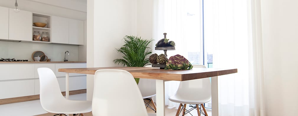 Comedores de estilo minimalista por Didonè Comacchio Architects