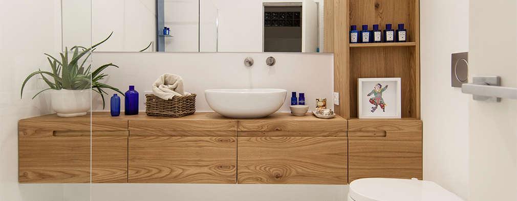 Baños de estilo minimalista por Didonè Comacchio Architects