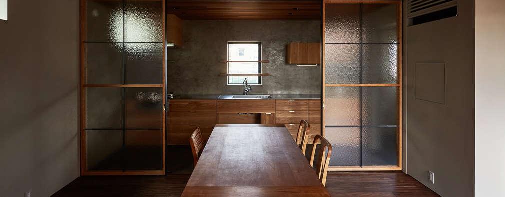 modern Kitchen by 武藤圭太郎建築設計事務所