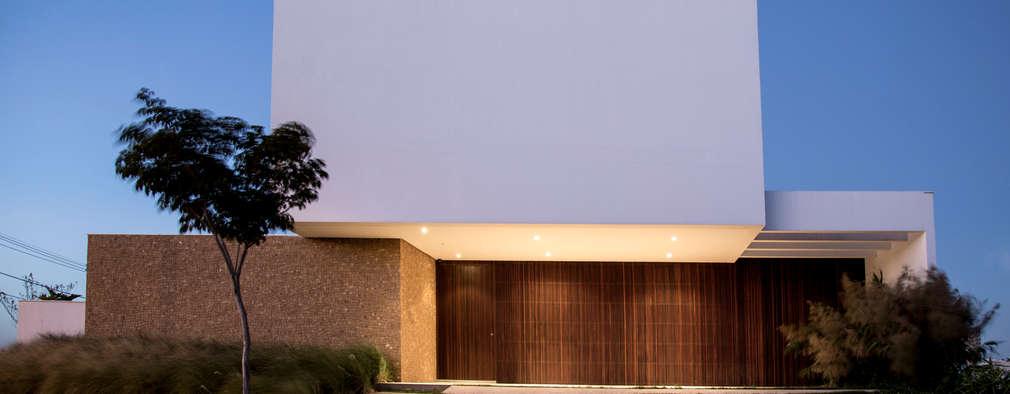 RESIDÊNCIA CS: Casas modernas por F:POLES ARQUITETOS ASSOCIADOS