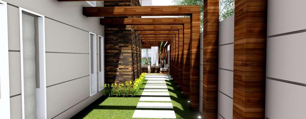11 pergolados maravilhosos para decorar a entrada da casa - Ideas para entradas de casa ...