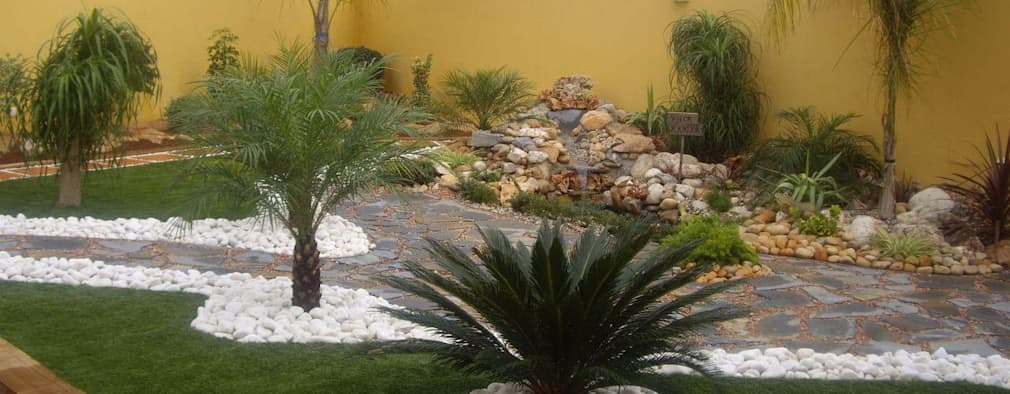 Dise o de jardines peque os homify for Diseno y decoracion de jardines