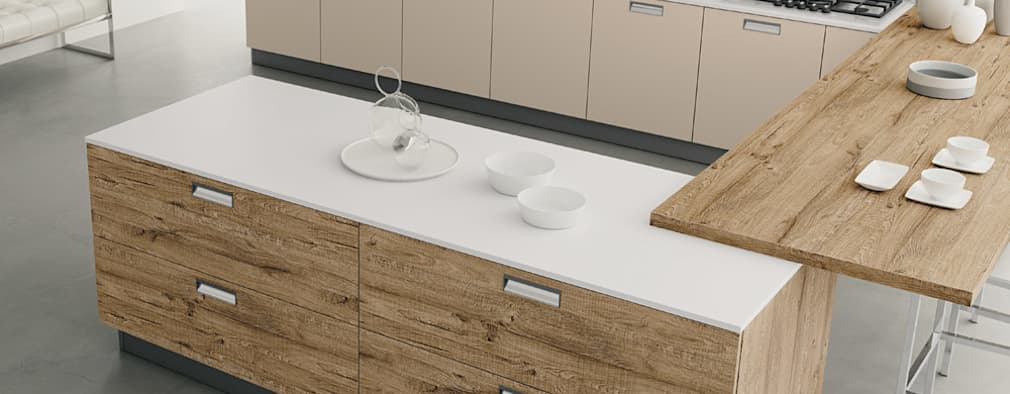 Modello Smart: Cucina in stile in stile Moderno di DIEMME CUCINE S.r.l.