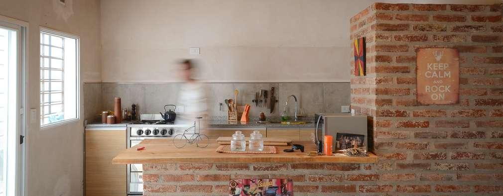 modern Kitchen by ggap.arquitectura