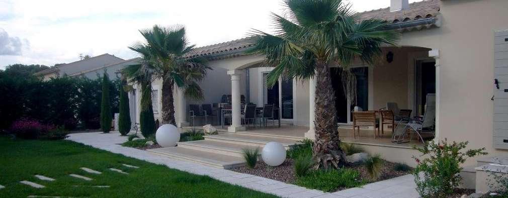 exemples de vegetalisations: Maisons de style de style Moderne par Bellerive Jardin