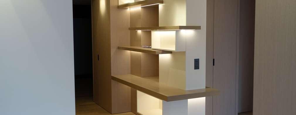 11 estantes separadores de ambientes para copiarlos a tu medida - Estanterias separadoras de ambientes ...