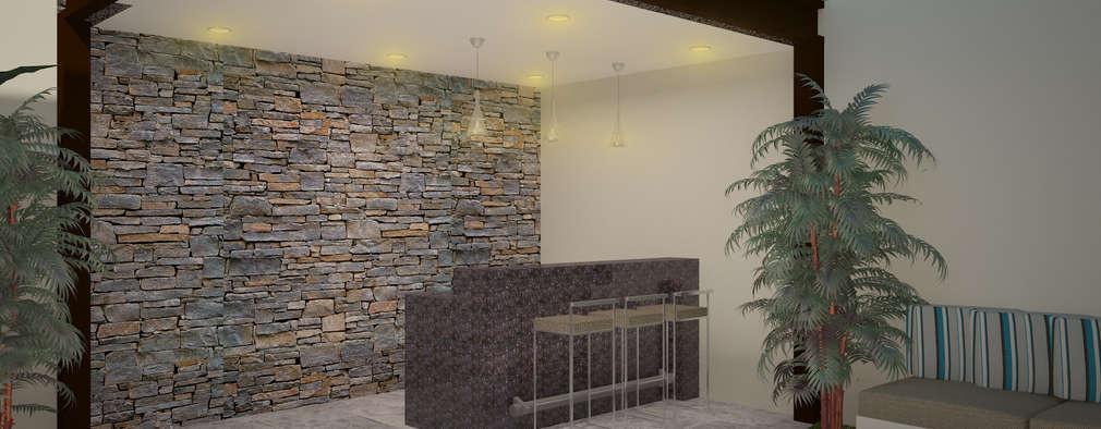 """Proyecto Remodelación """"Casa NR13"""":  de estilo  por PORTO Arquitectura + Diseño de Interiores"""