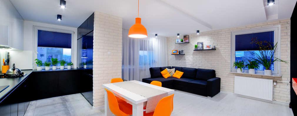 Comedores de estilo minimalista por Auraprojekt