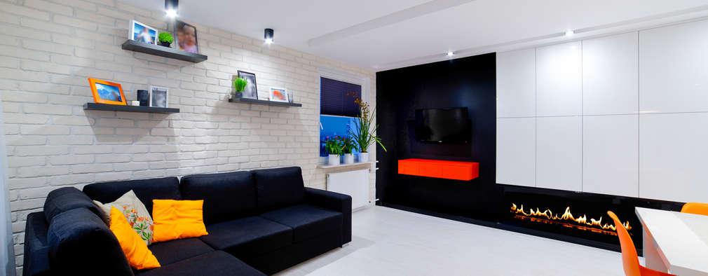 Auraprojekt: minimal tarz tarz Oturma Odası