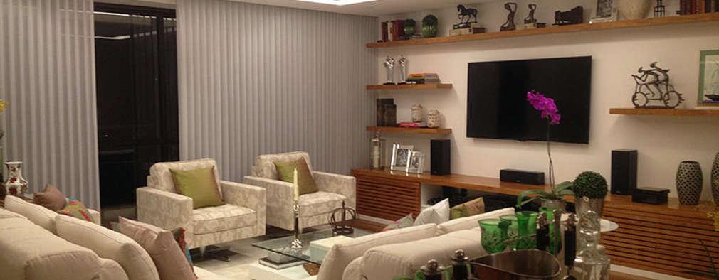 modern Living room by GEA Arquitetura