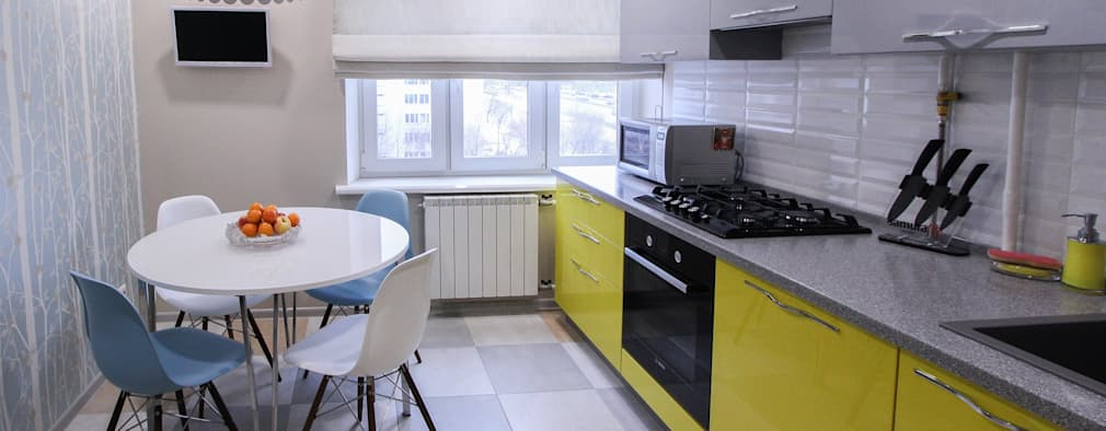 Cocinas peque as homify for Renovar cocina pequena