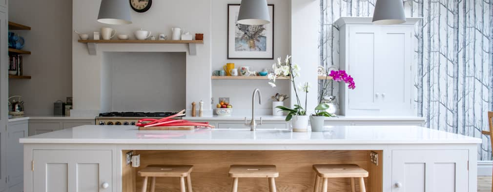 scandinavian Kitchen by It Woodwork