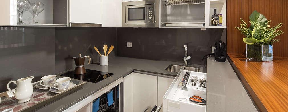 13 cucine piccole con grandi idee da copiare for Idee cucine piccole