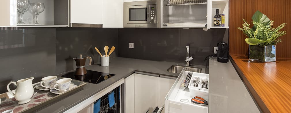 10 cocinas modernas con grandes ideas para copiar