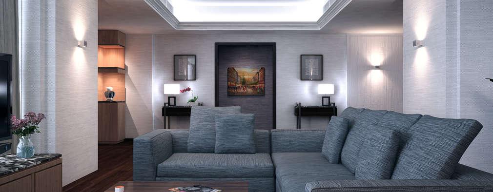 Nelson W Design: modern tarz Oturma Odası