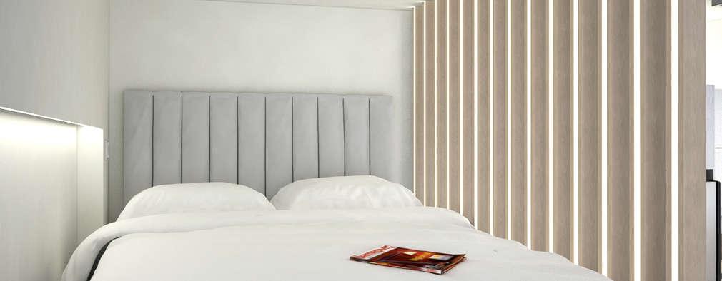 modern Bedroom by Nelson W Design