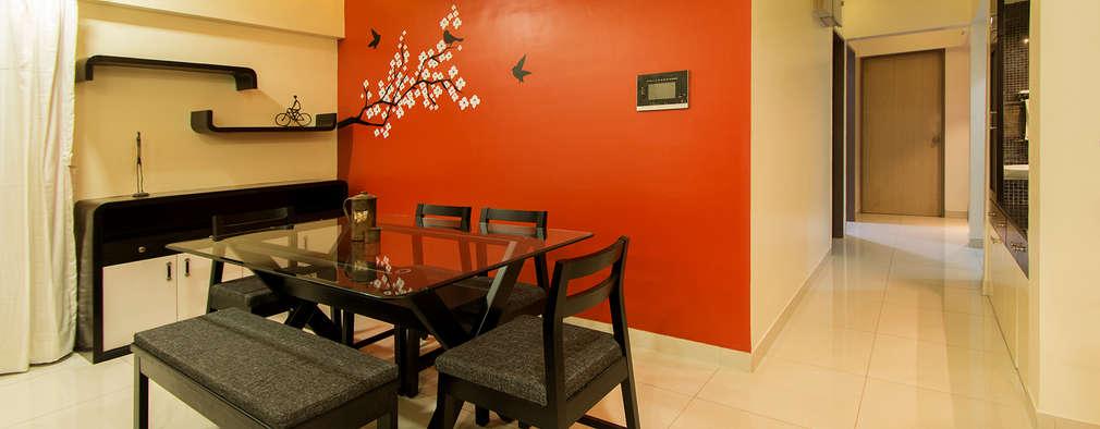 Dining Area:   by Navmiti Designs