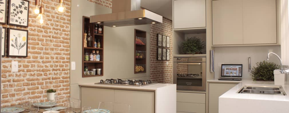 mediterranean Kitchen by Fernanda Moreira - DESIGN DE INTERIORES