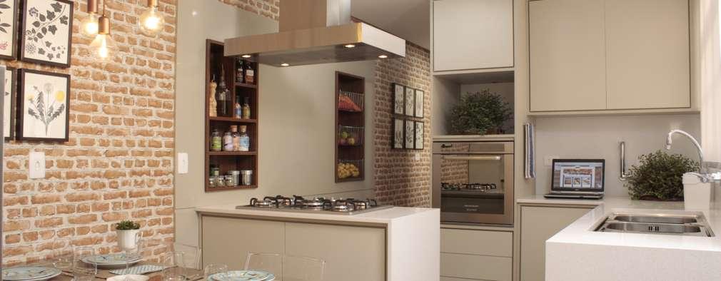 Nhà bếp by Fernanda Moreira - DESIGN DE INTERIORES