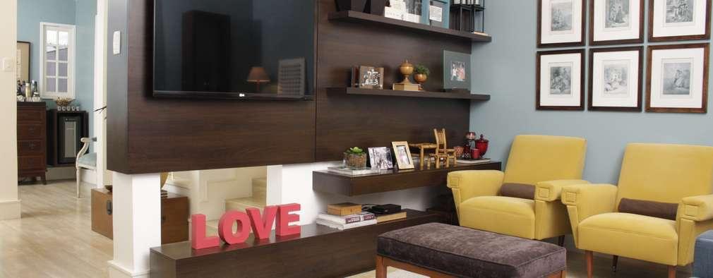 12 soluciones para colocar la TV en salas pequeñas