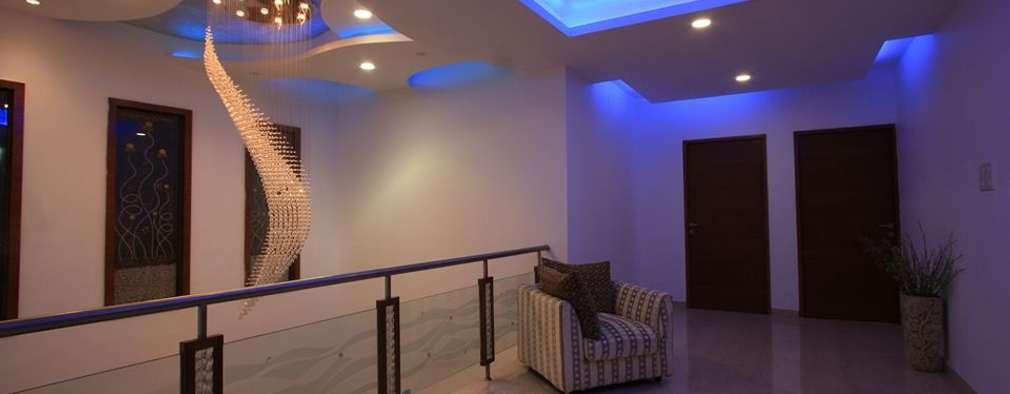 Corridor & hallway by Ansari Architects