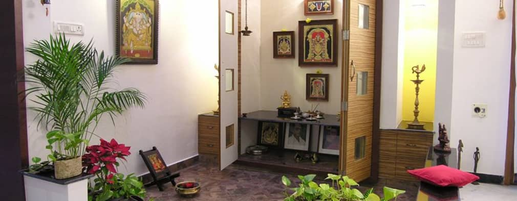 Pooja room design ideas interiors pictures homify