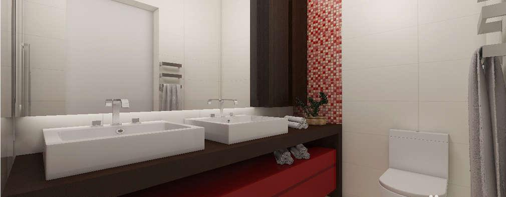 modern Bathroom by Drömma Arquitetura