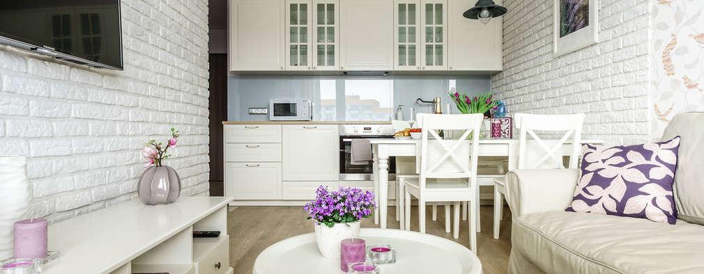 Un espacio peque o pero plagado de estilo for Cocinas para apartaestudios