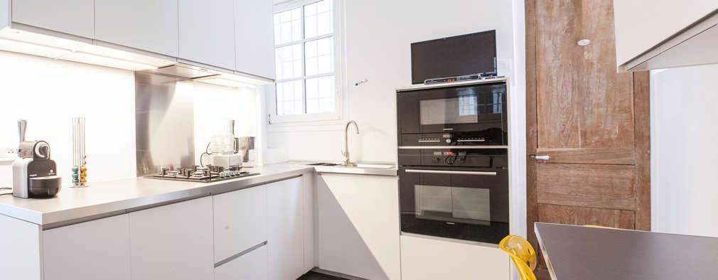 moderne Keuken door Olivier Olindo Architecte