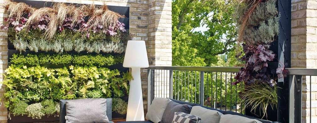 Terraços  por Countryside Properties