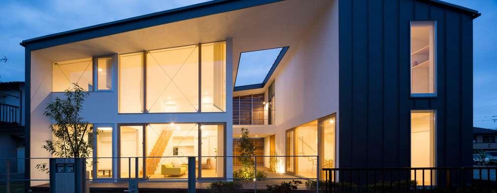 บ้านและที่อยู่อาศัย by Studio R1 Architects Office