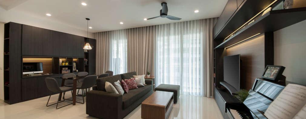 Livings de estilo moderno por Eightytwo Pte Ltd